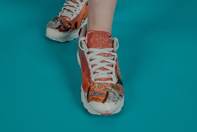 Can shoes be recycled